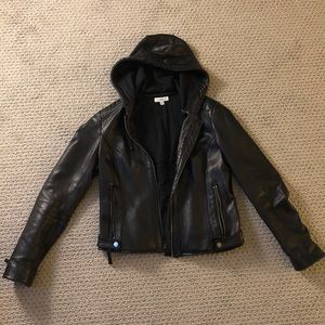 Barney's New York Leather Jacket